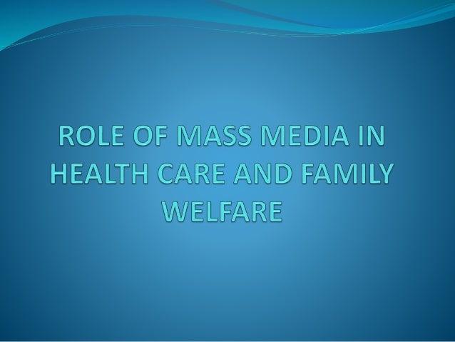 Mass communication on health & family welfare