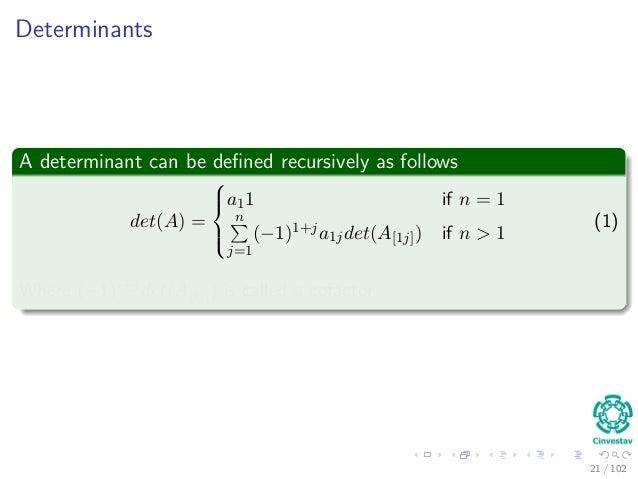 23 Matrix Algorithms