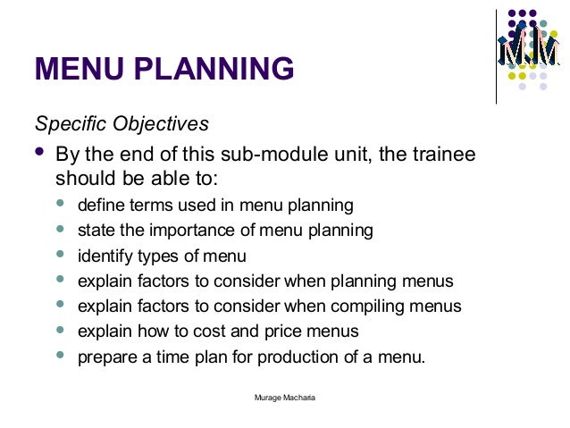 The Importance Of Food Production Planning For A Kitchen