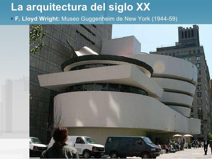 23 movimiento moderno en la arquitectura for Arquitectura del siglo 20