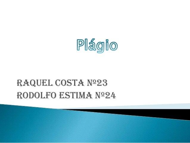 Raquel Costa nº23 Rodolfo Estima nº24