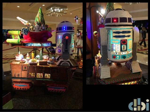 23rd Annual Gingerbread Village - Star Wars Edition Slide 3