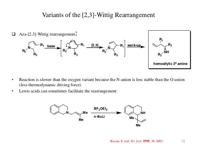2,3-Wittig rearrangement