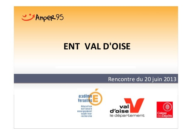 Rencontre bilan ENT du Val-d'Oise slideshare - 웹
