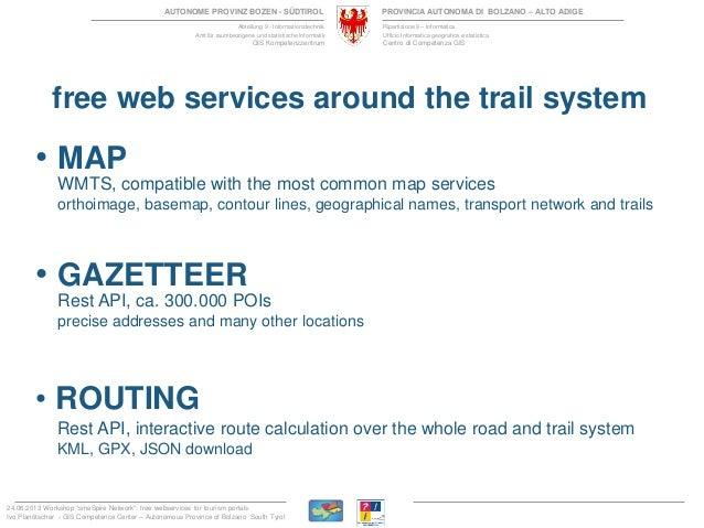 Free webservices for tourism portals Slide 3