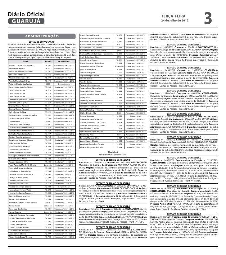 Diário Oficial de Guarujá - 24-07-2012 Slide 3