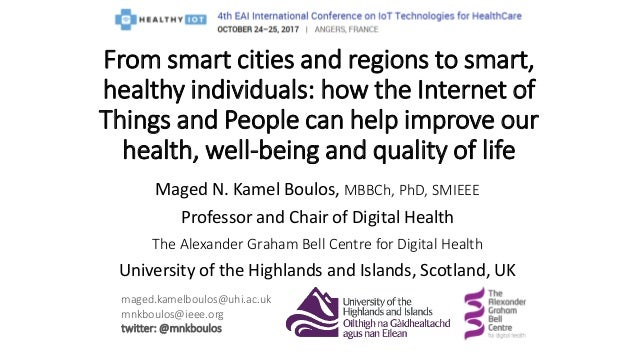 Maged N. Kamel Boulos, MBBCh, PhD, SMIEEE Professor and Chair of Digital Health The Alexander Graham Bell Centre for Digit...