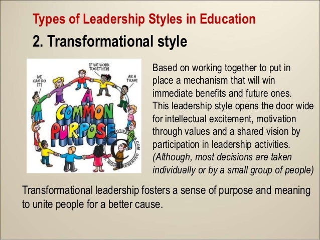 """leadership styles in education British educational leadership, management & admin society 1542  two  adapted questionnaires titled """"principals' leadership style."""