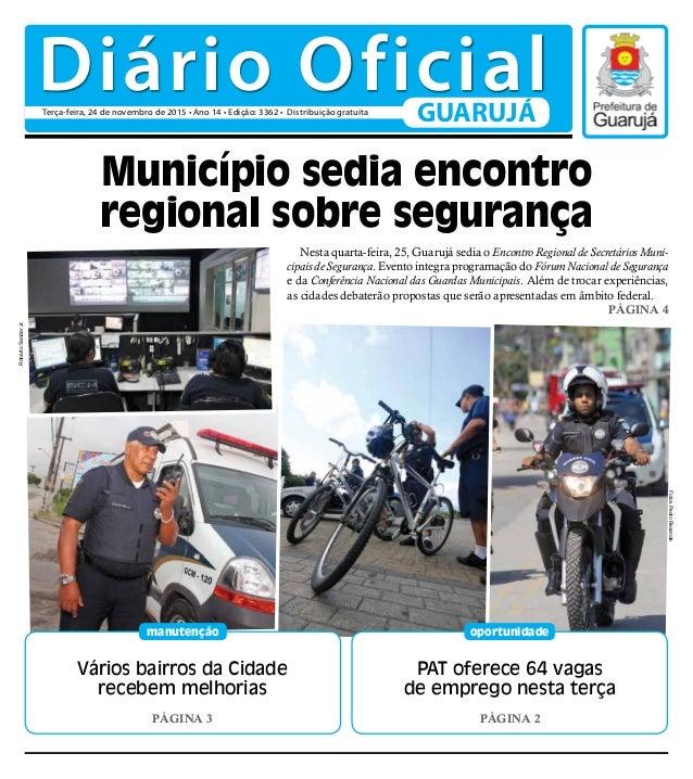 Vários bairros da Cidade recebem melhorias PÁGINA 3 manutenção PAT oferece 64 vagas de emprego nesta terça PÁGINA 2 oportu...