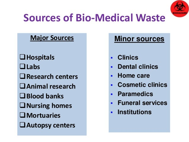 biomedical waste management research papers Biomedical waste management : an infrastructural survey of hospitals   abstract  external costs are off site transportation, treatment and final disposal.