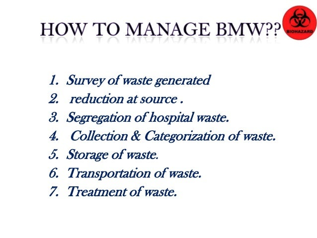 Steps to Manage Hazardous Wastes before Disposal 1. Know what hazards you have. 2. Purchase smallest quantity needed, and ...