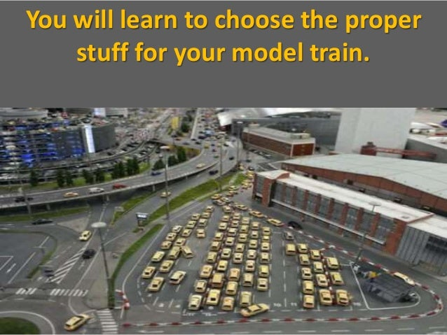 how to make a train model