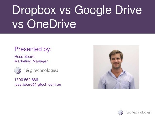File sharing tools: Dropbox vs Google Drive vs OneDrive