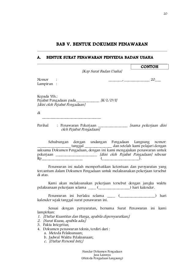Contoh Surat Penawaran Alat Kesehatan Surat 32
