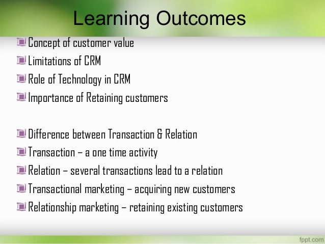 difference between transactional marketing and relationship marketing marketing essay Relationship marketing according to payne etal (1999) emerged from early 1980's by berry after marketing mix concept became limited and 4ps did not take sufficient account of building a long-term relationship between an industrial buyer and seller relationship marketing was long-term approach for marketing.