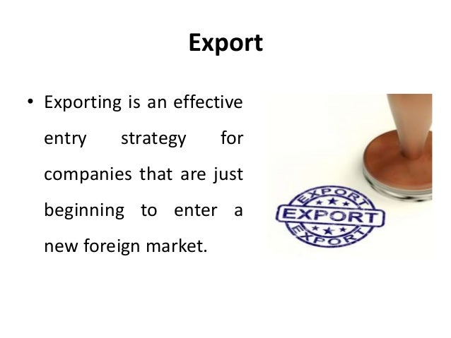 Welcome to Export Import Strategies Corporation