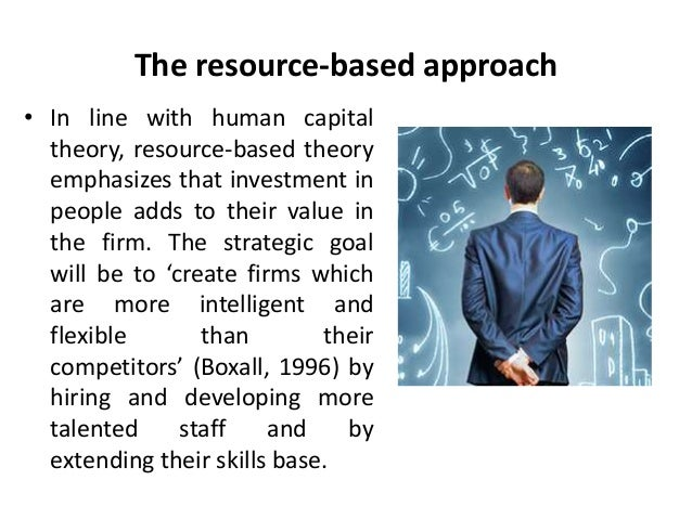 Approaches to strategic human resource management