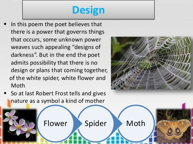 design robert frost summary