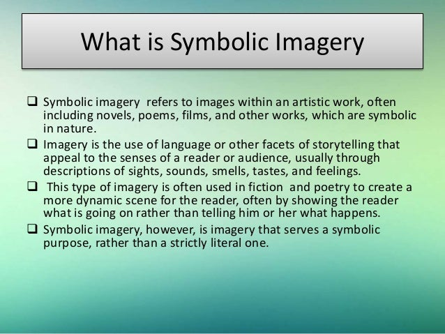 Symbolic Imagery in Robert Frost's Poetry