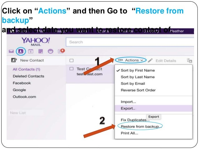 1-844-773-9313 Learn How To Restore Yahoo Mail Deleted Or Lost Cont…