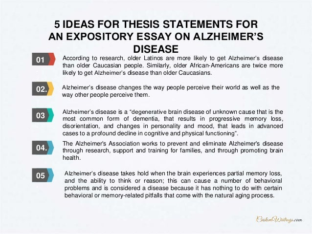 complete guide on how to outline an expository essay on alzheimer s d   expository essay on alzheimer s disease more topics at customwritings com 5