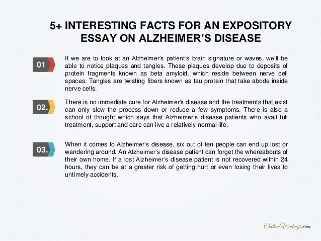 How to write an alzheimers essay