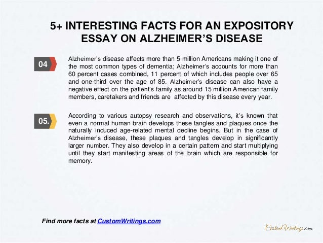 complete guide on how to outline an expository essay on alzheimer s d  7 5 interesting facts for an expository essay