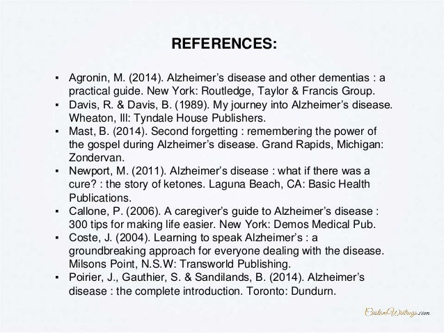 complete guide on how to outline an expository essay on alzheimer s d  find more facts at customwritings com 8