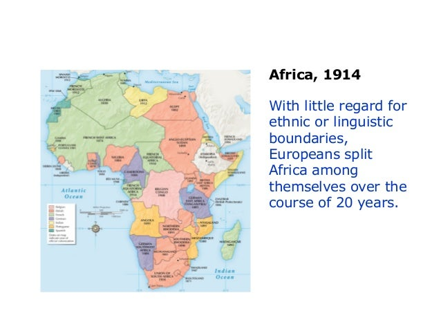 Partition Of Africa Map.24 2 The Partition Of Africa