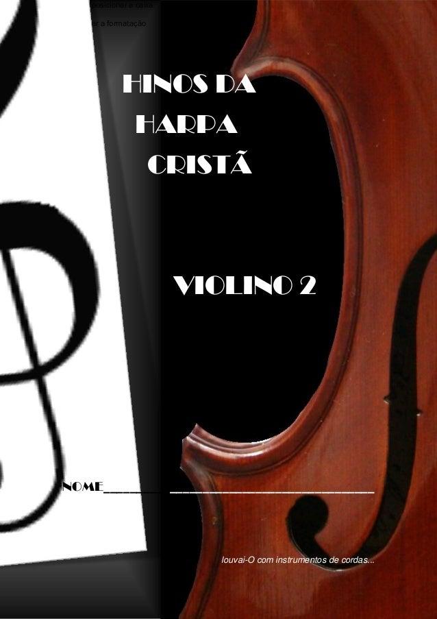 Hinos Da Harpa Crista 2º Violino