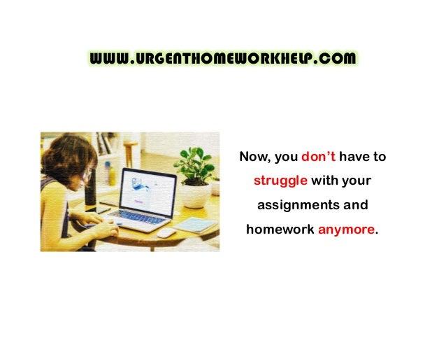 Homework help 24 hours