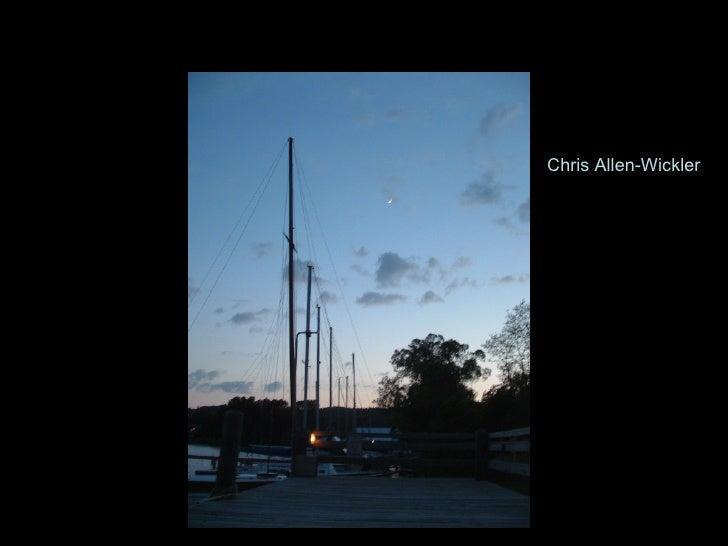 24 Hours at Inland Seas Chris Allen-Wickler