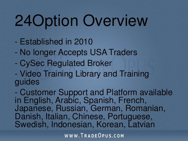 Cysec regulated binary options broker