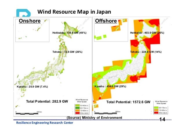 Assessment Of Renewable Energy In Nationwide Power Grid In Japan By - Japan map center