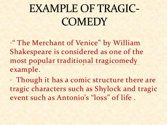 Tragicomedy wikipedia.