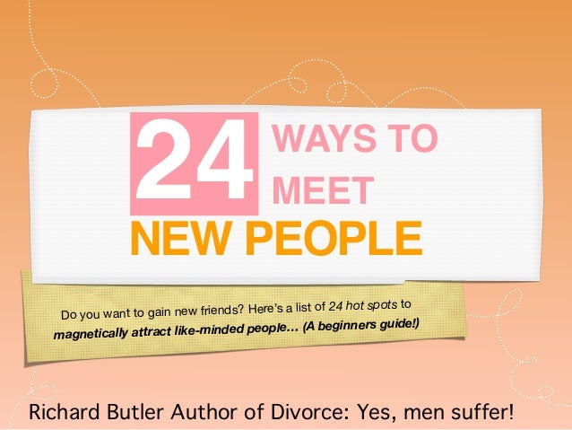new ways to meet people