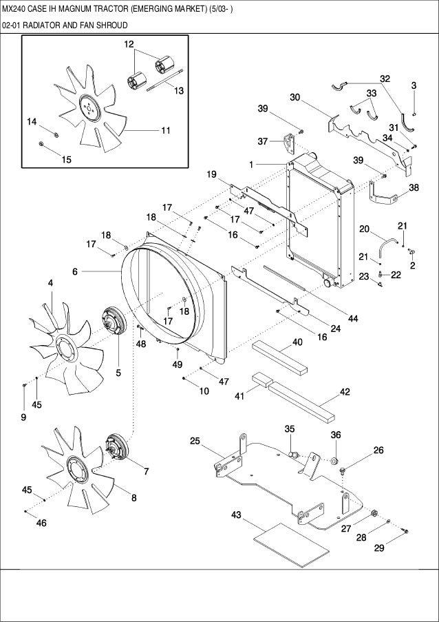 mx 240 case ih magnum tractor emerging market. Black Bedroom Furniture Sets. Home Design Ideas