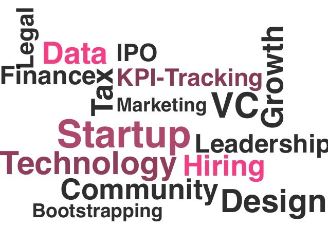 Legal                               Growth         Data IPOFinance KPI-Tracking            Tax              Marketing   VC...