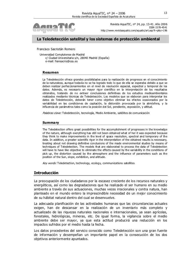 Revista AquaTIC, nº 24 – 2006                                         13                              Revista científica d...