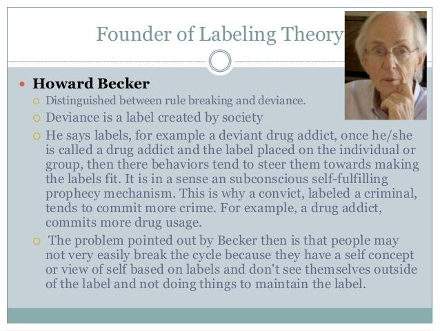 Sex offenders and labeling theory