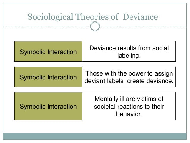 labeling theory of deviance essay Sociology and perspective view deviance 7 july there are two kind of deviance in labeling theory haven't found the essay you want.