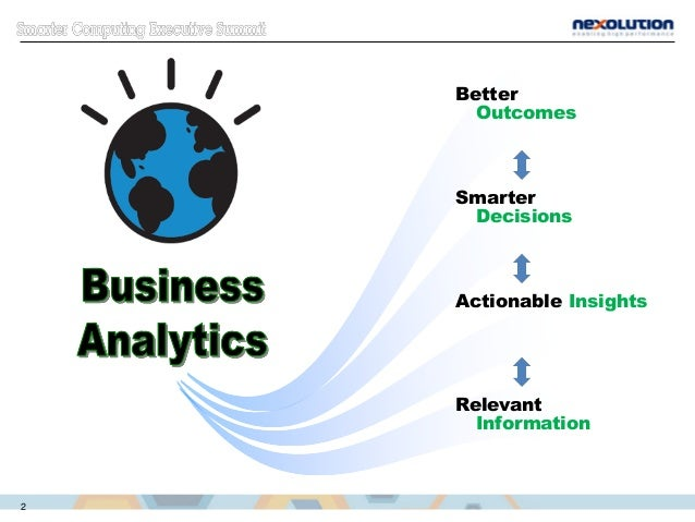 Relevant Information Actionable Insights Smarter Decisions Better Outcomes 2