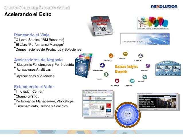"""Planeando el Viaje •C-Level Studies (IBM Research) •El Libro """"Performance Manager"""" •Demostraciones de Productos y Solucion..."""