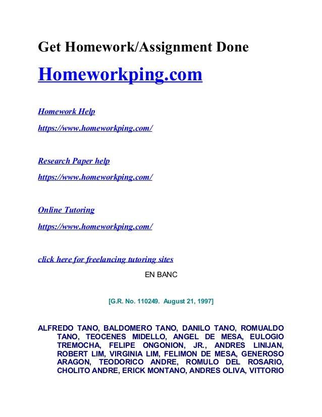 Get Homework/Assignment Done Homeworkping.com Homework Help https://www.homeworkping.com/ Research Paper help https://www....