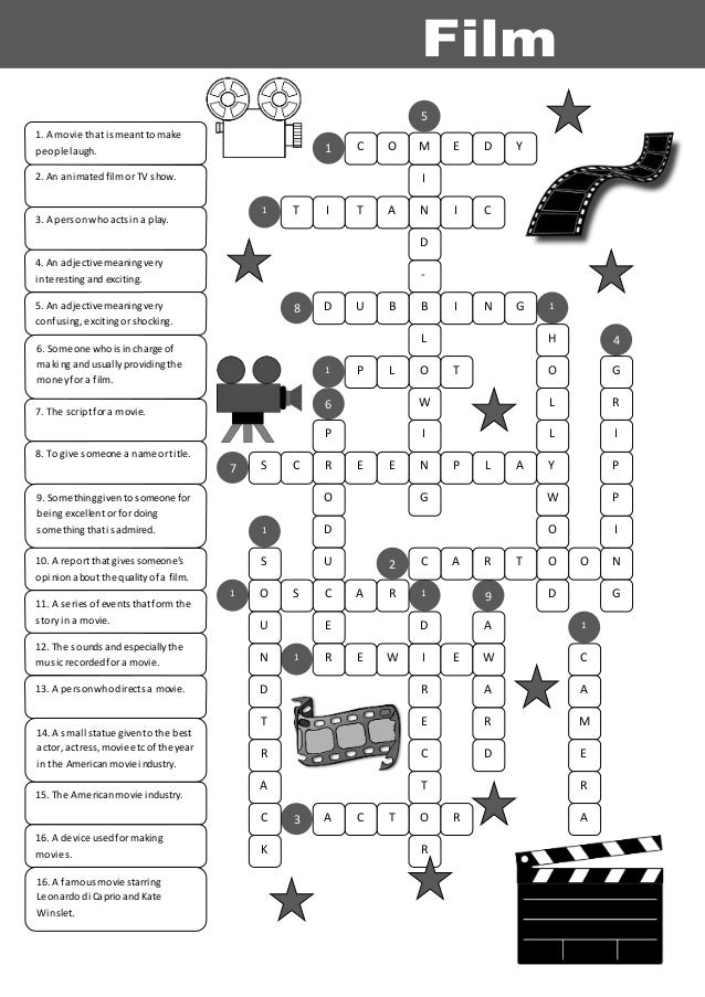 24074 film vocabulary_crossword_key