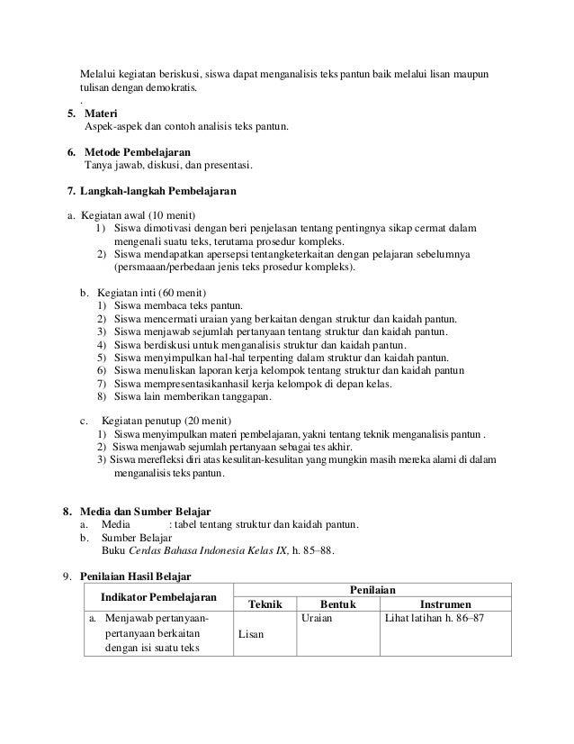 Contoh Teks Prosedur Berdasarkan Struktur - Contoh 4444