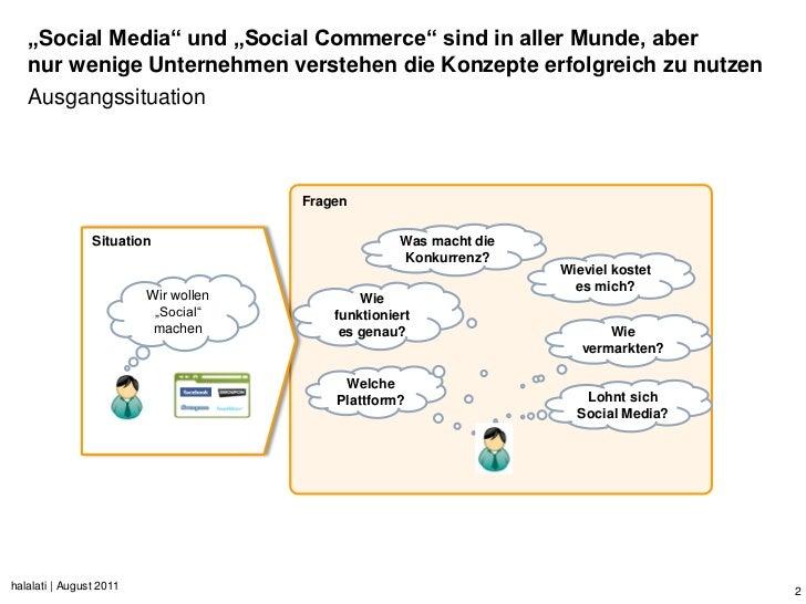 """""""Social Media"""" und """"Social Commerce"""" sind in aller Munde, aber   nur wenige Unternehmen verstehen die Konzepte erfolgreich..."""