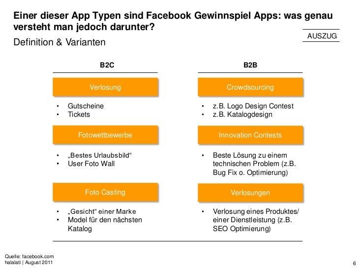 Einer dieser App Typen sind Facebook Gewinnspiel Apps: was genau   versteht man jedoch darunter?                          ...