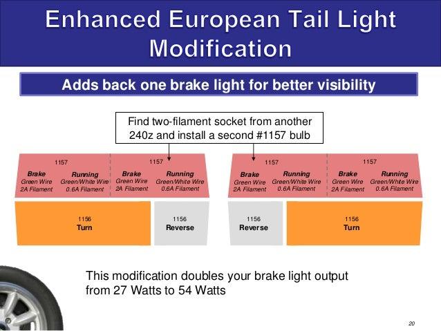 240z Tail Light Enhancements