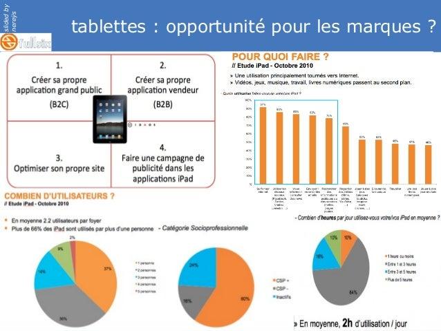 slidedby nereÿs © tablettes : opportunité pour les marques ?